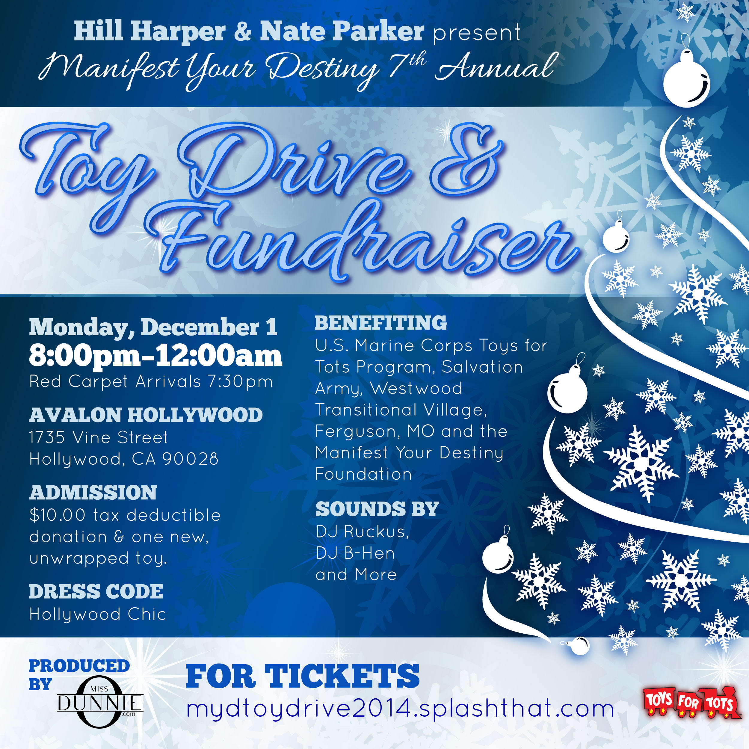Toy Drive Flyer : Th annual manifest your destiny toy drive fundraiser
