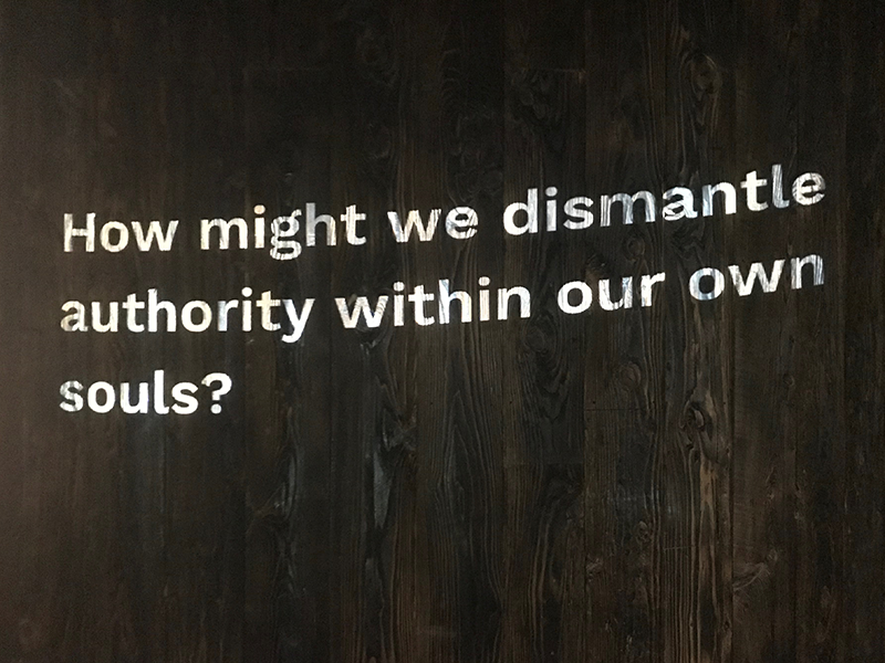 Design Activist Institute How might we dismantle authority within our own souls?
