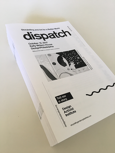 Design Activist Institute Dispatch zine