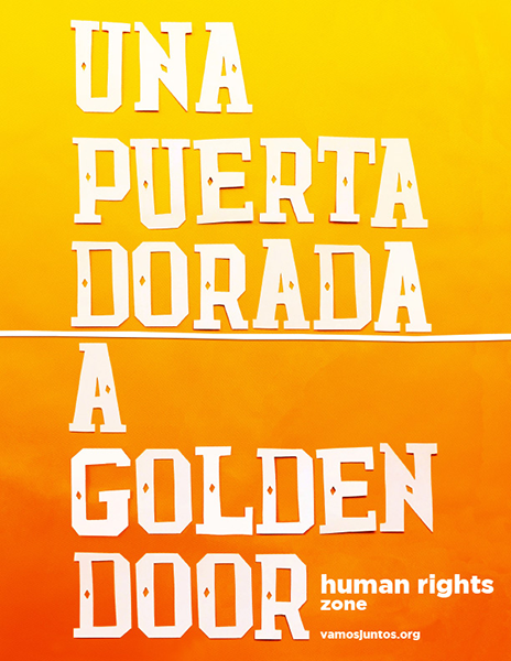 Design Activist Institute Una puerta dorada / A golden door