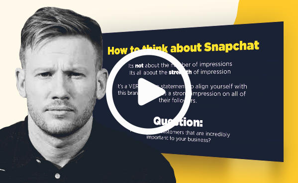 how to use snapchat for events webinar