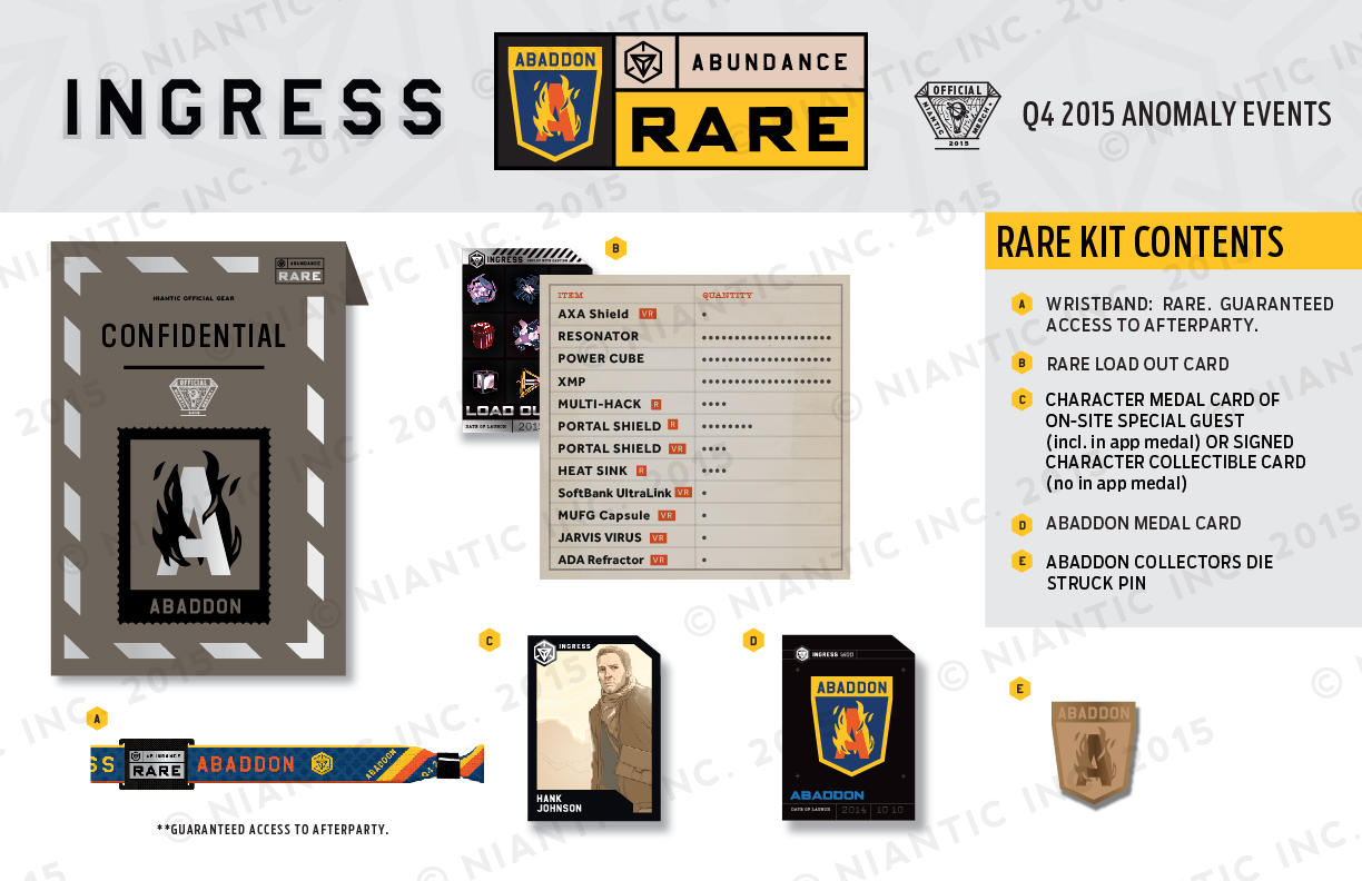 ingress very rare load out card code