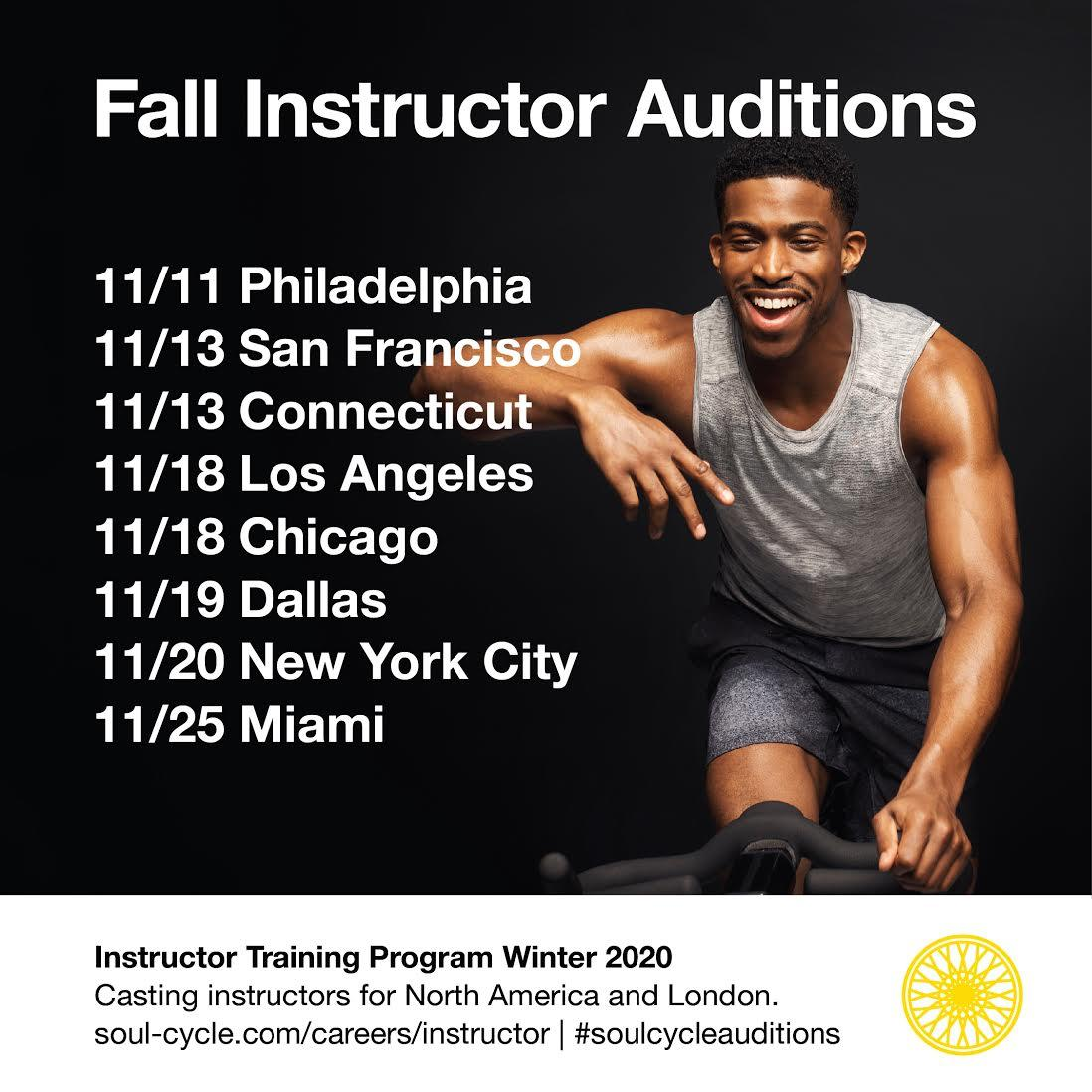 Instructor Auditions