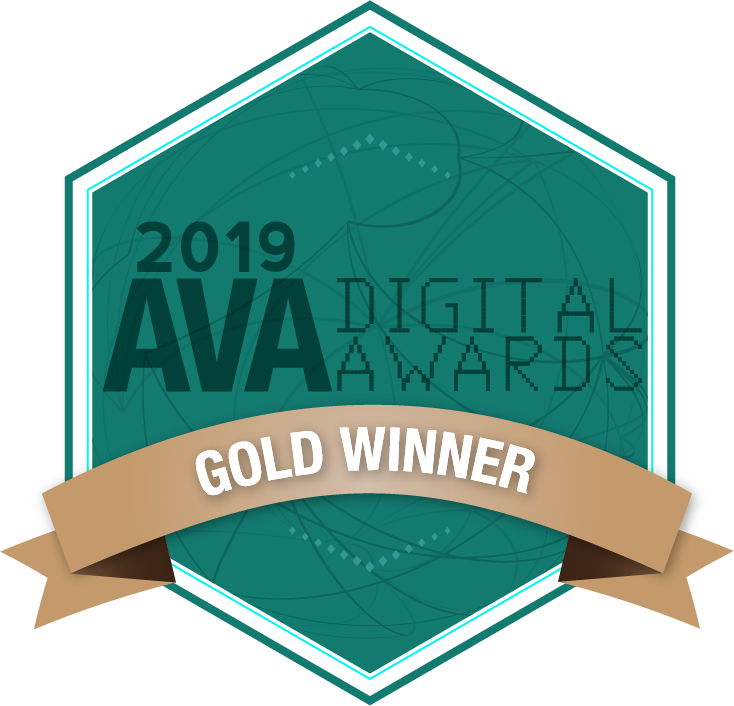 ava digital awards 2019 winner motion graphic design