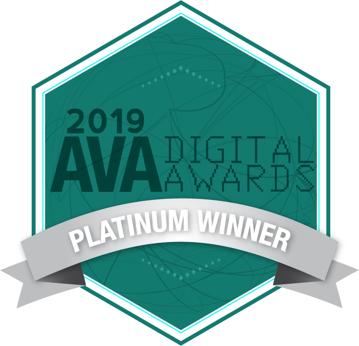 ava digital awards 2019 winner on-camera talent