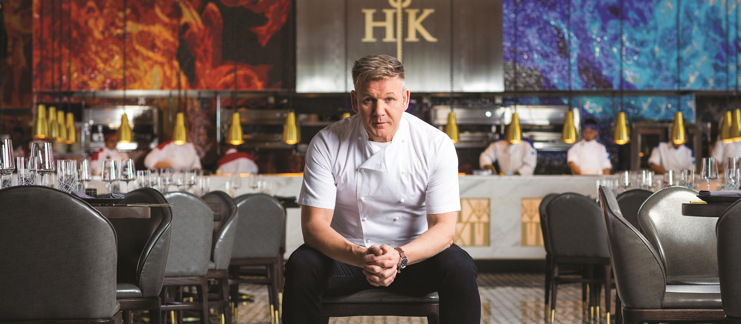 Admirable 18 Master Series Gordon Ramsay Hells Kitchen Interior Design Ideas Helimdqseriescom