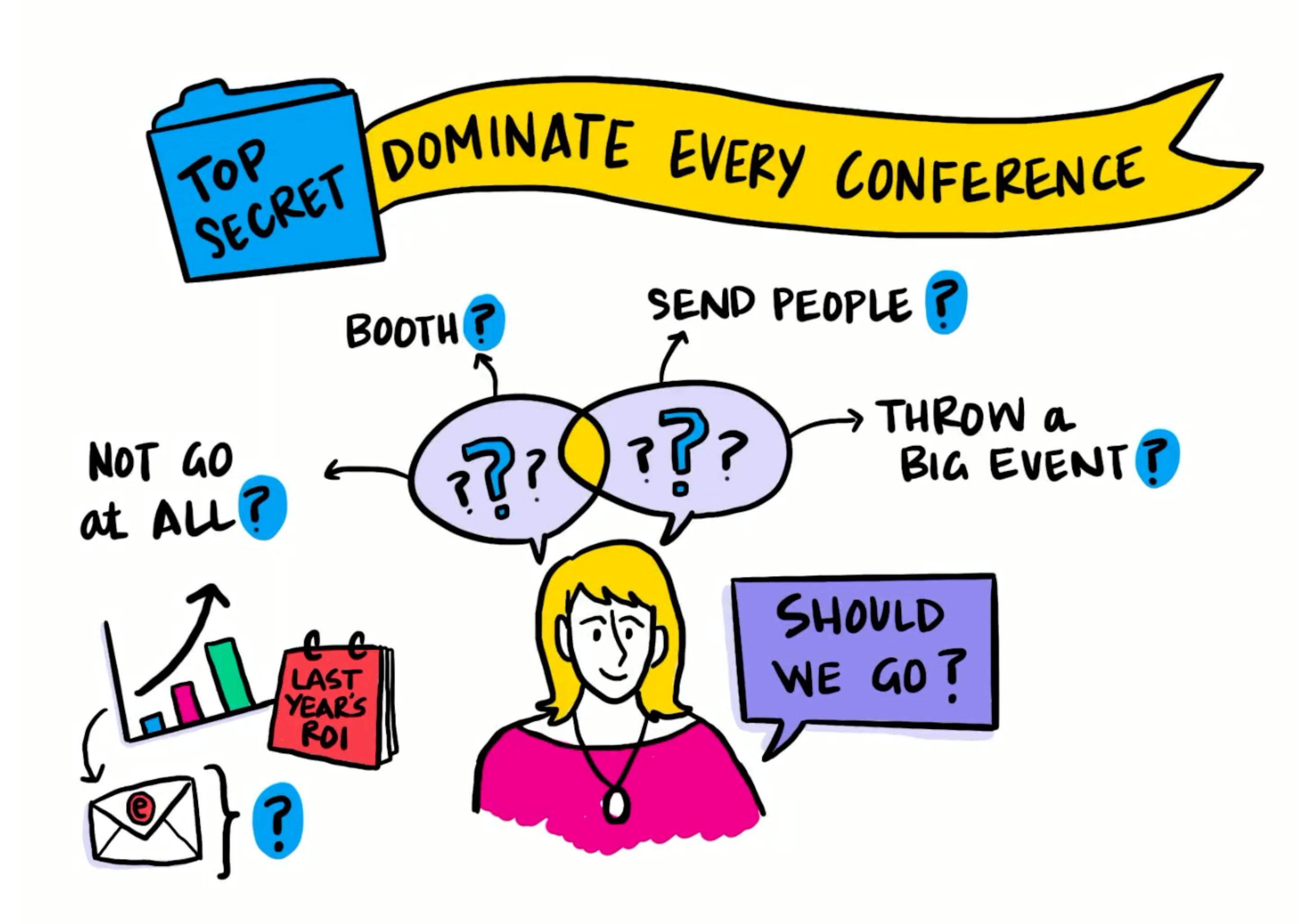 book trade shows conference strategy