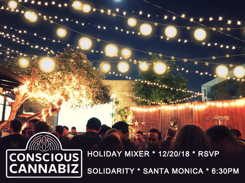 Conscious Cannabiz Winter Solstice Holiday Mixer