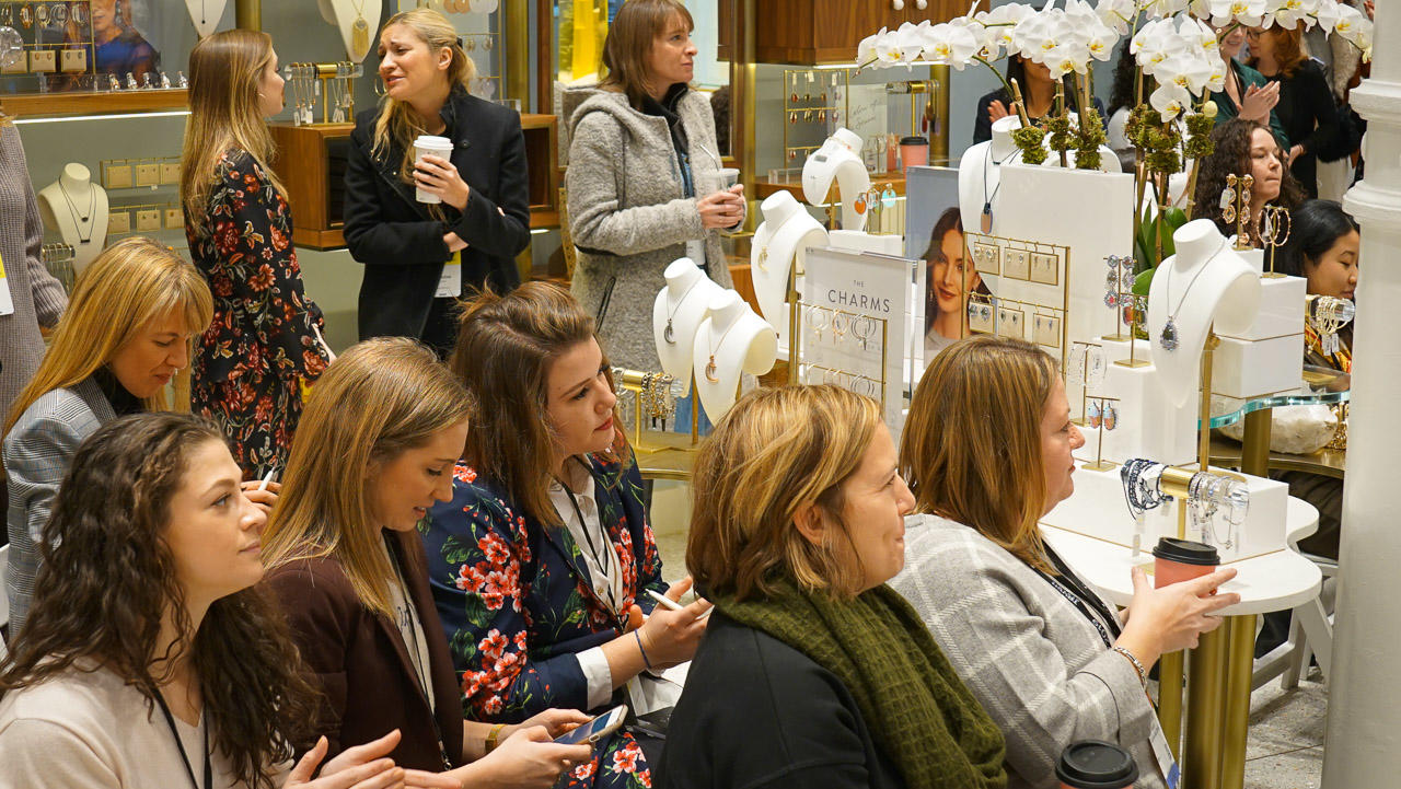 kendra scott store event guests