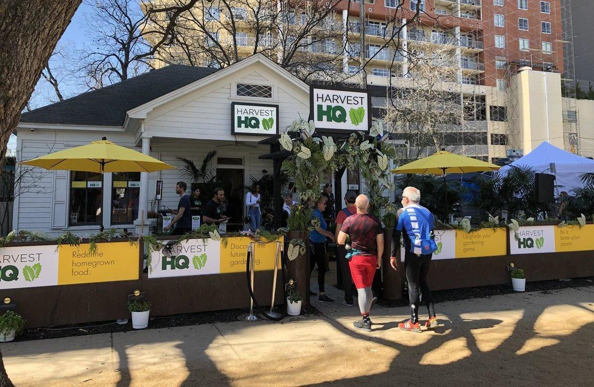 SXSW 2019 miracle gro harvest hq