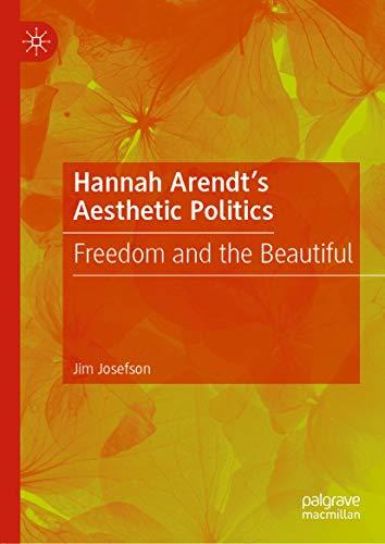 CANCELLED: Hannah Arendt's Aesthetic Politics