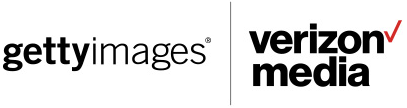 Getty Images and Verizon Media Logos