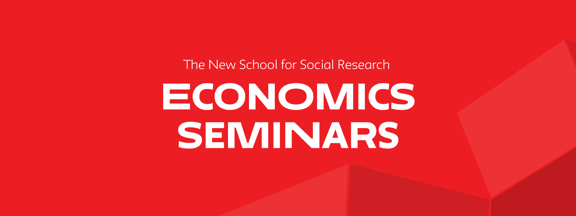 ONLINE | Economics Seminars Series