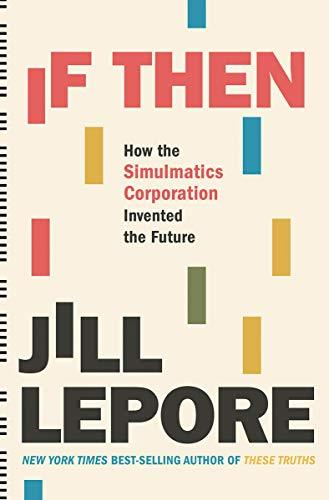 If Then book cover by Jill Lepore