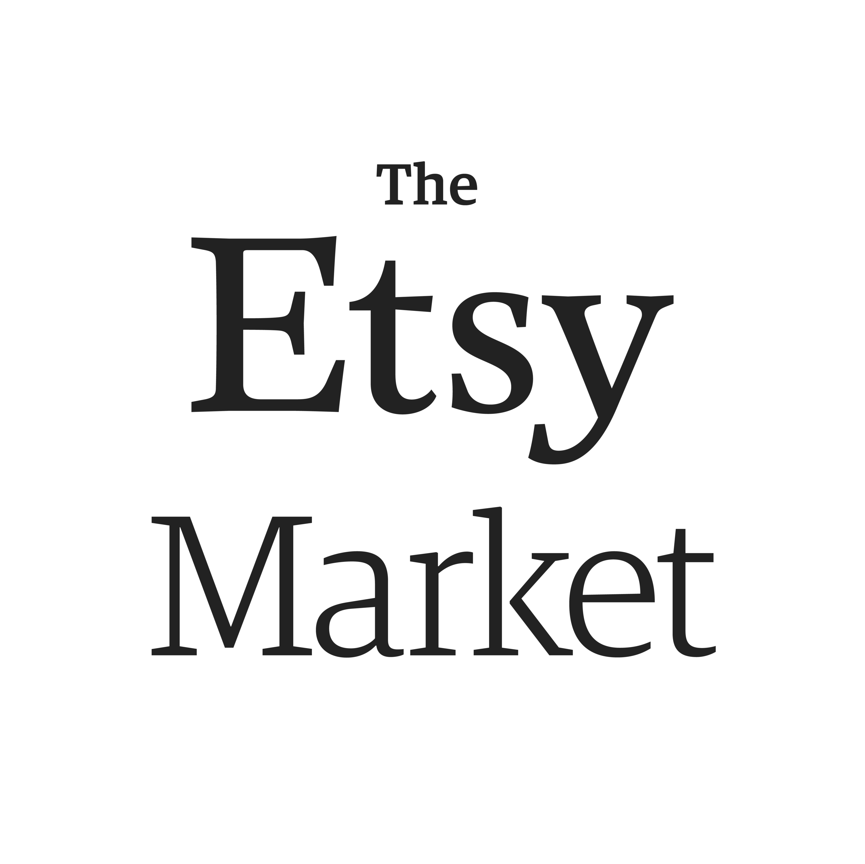 The Etsy Market