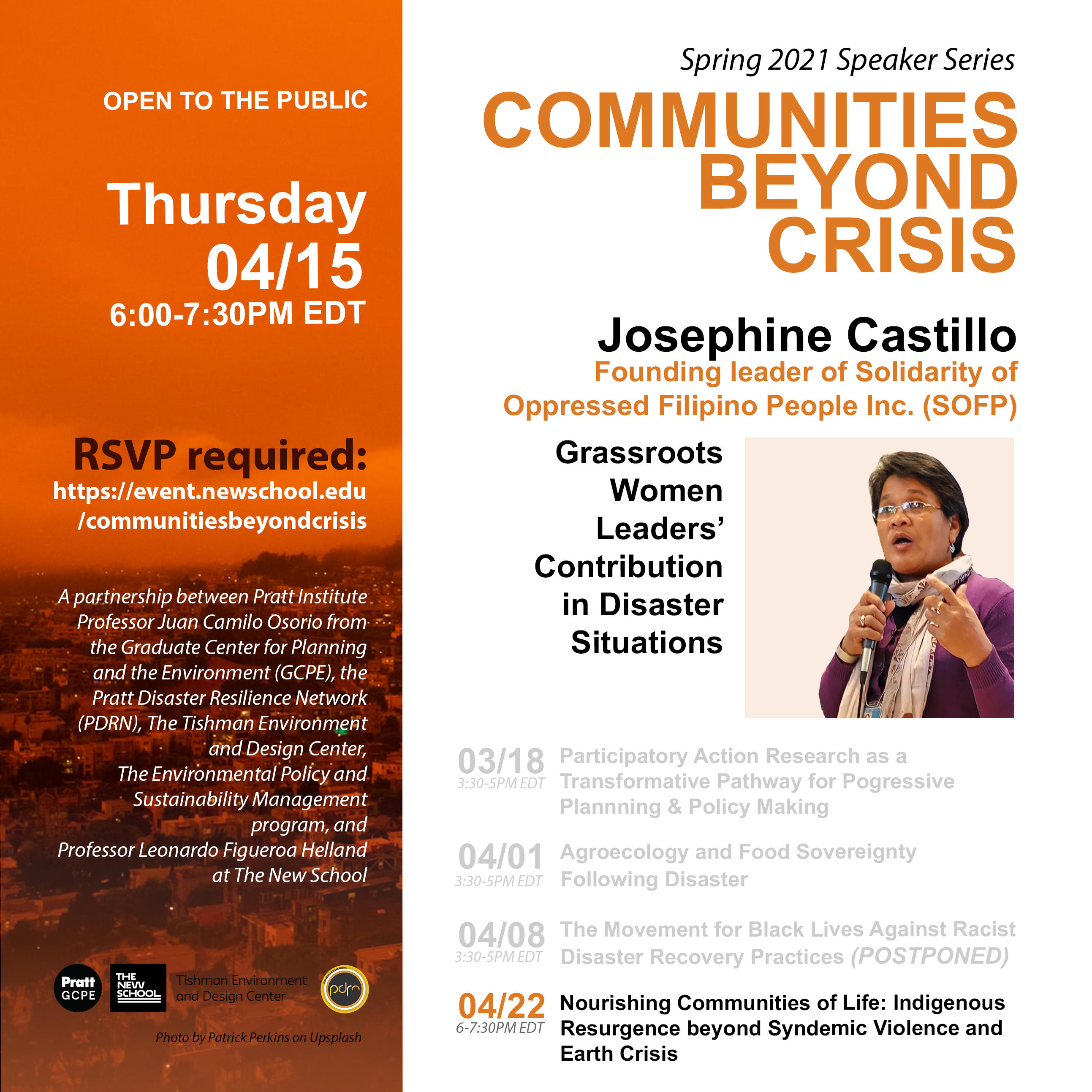 ONLINE | Communities Beyond Crisis: Grassroots Women Leaders' Contributions in Disaster Situations