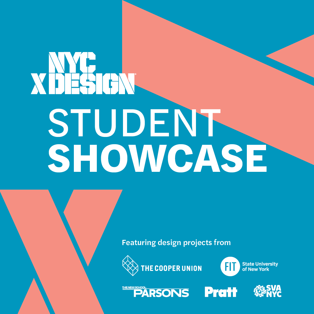 ONLINE | NYCxDesign Student Showcase