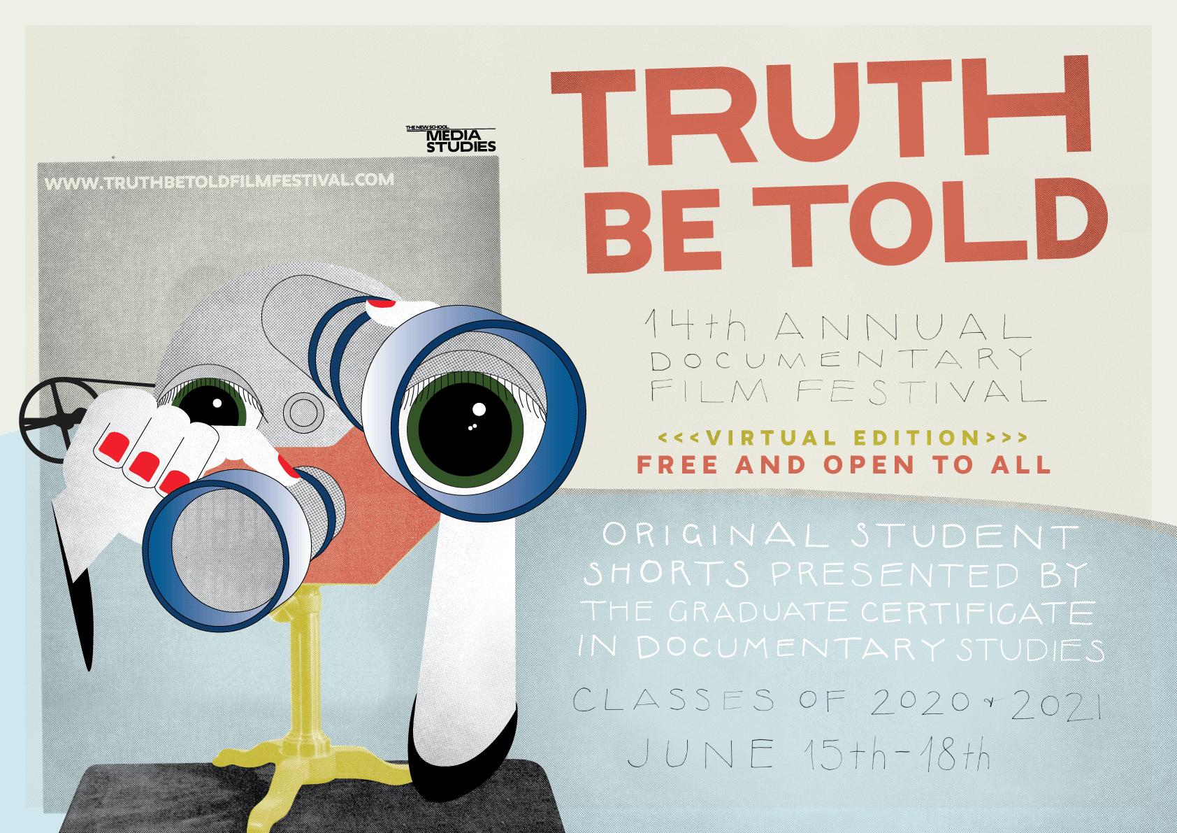 ONLINE | Truth Be Told 14th Annual Documentary Film Festival | School of Media Studies