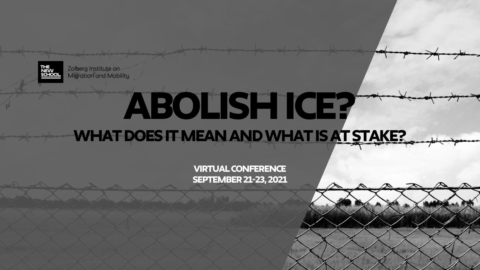 ONLINE | Abolish ICE? Conference