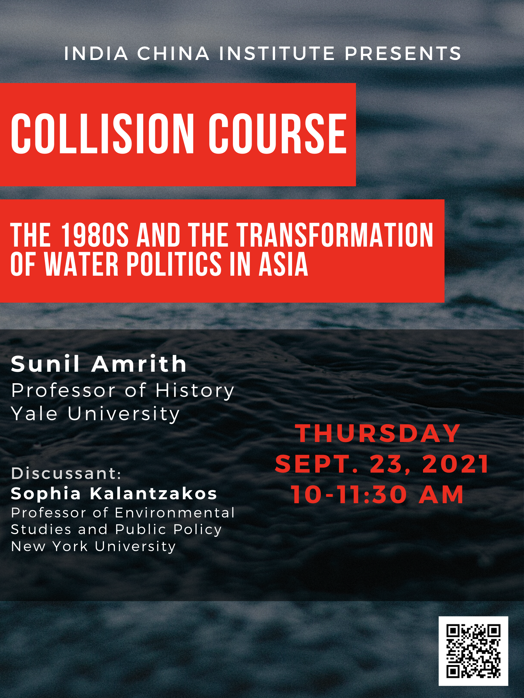 ONLINE I Collision Course? The 1980s and the Transformation of Water Politics in Asia